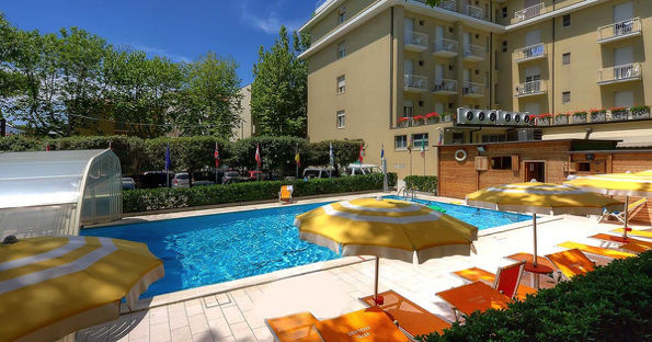 Cervia Hotel Excelsior Das Schwimmbad